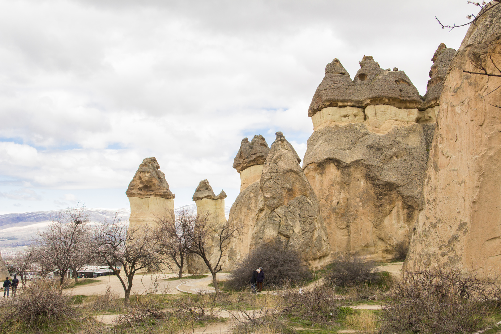 eigenartige Gebilde in Kapadokien