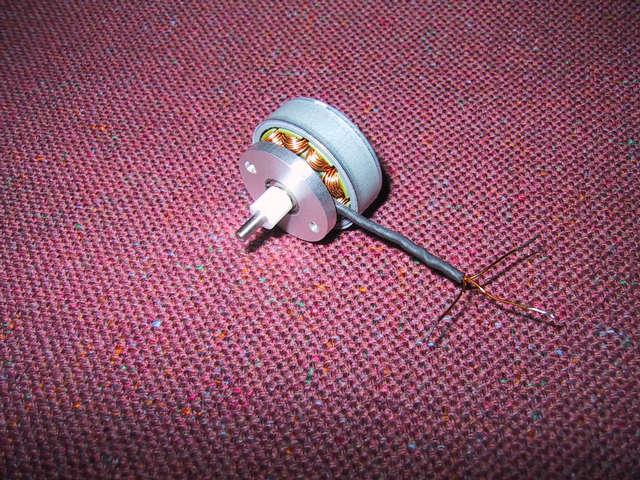Eigenbau Brushless Motor