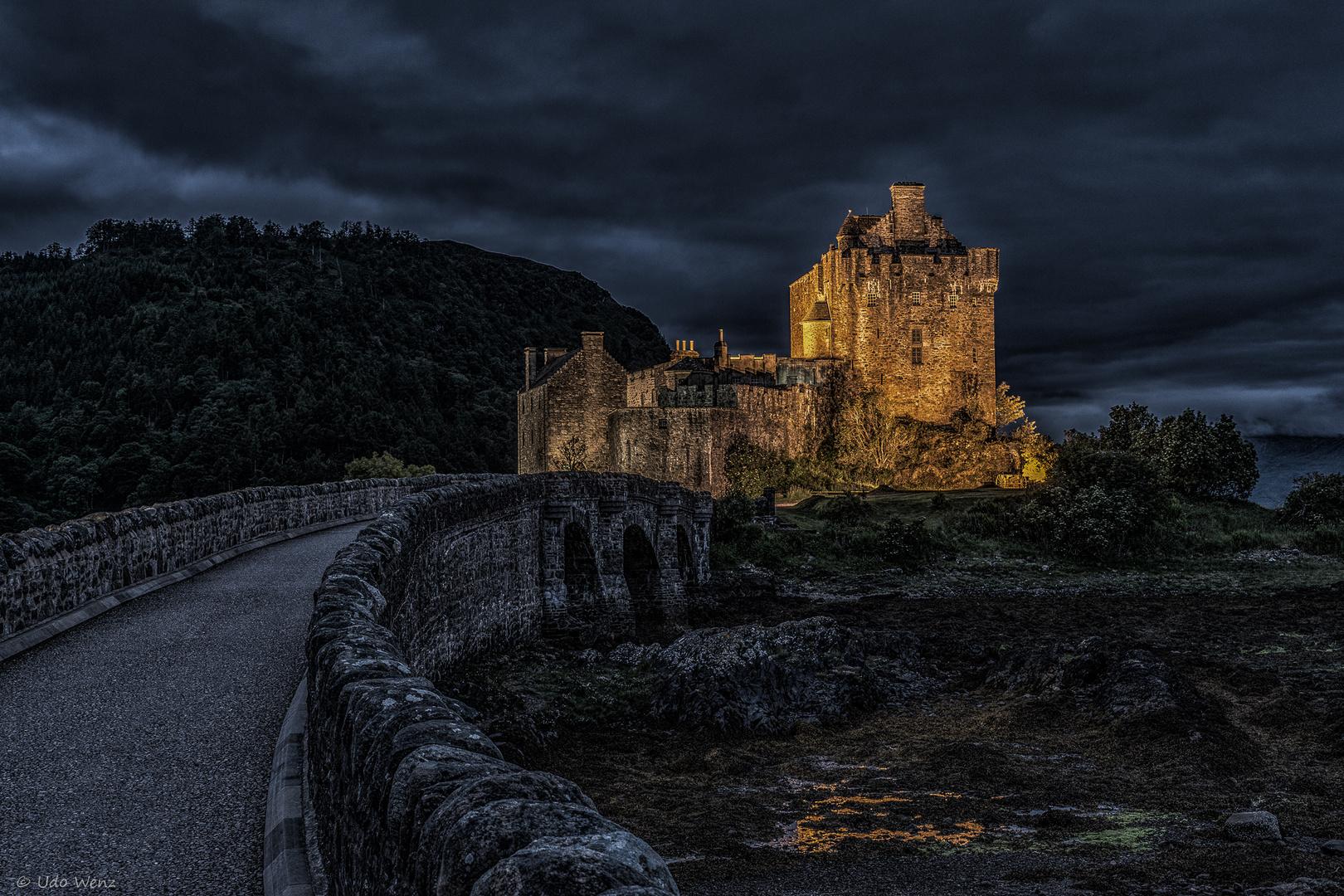 Eilean Donan Castle.....