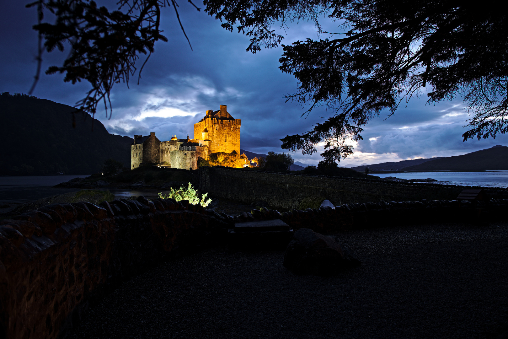 Eilean Donan Castle im Sept. 2018
