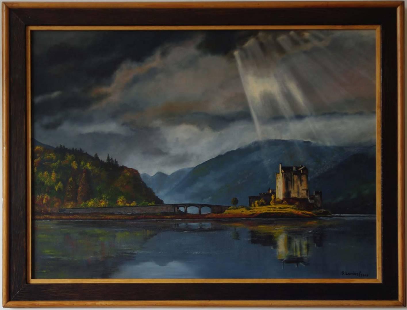 Eilean Donan Castle in Öl gemalt Von Mark (f22) fotogr.