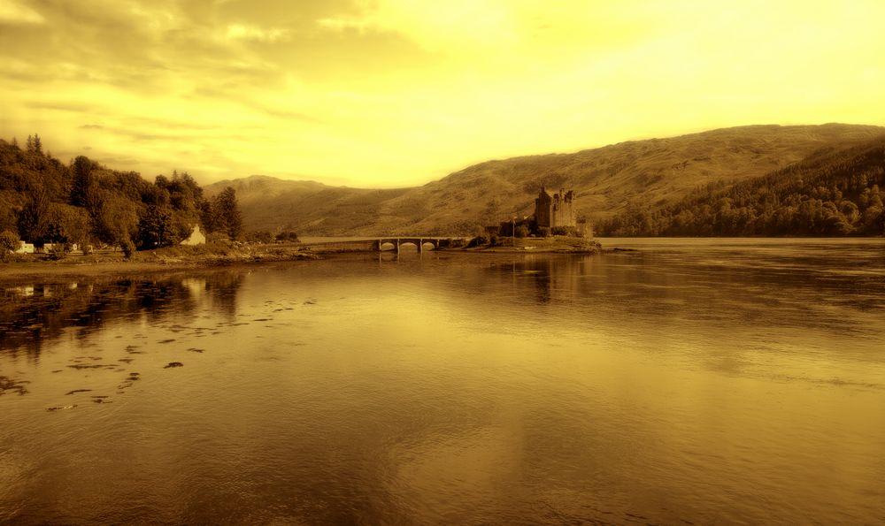 Eilean Donan Castle mystic
