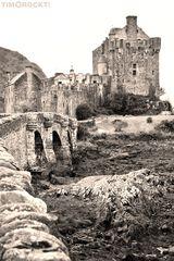 Eilean Donen Castle in Dornie, Schottland
