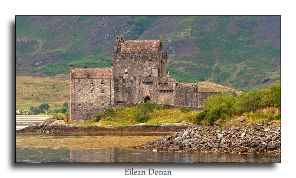 Eilean Doran castle. Scottish Highlands 2011 #2