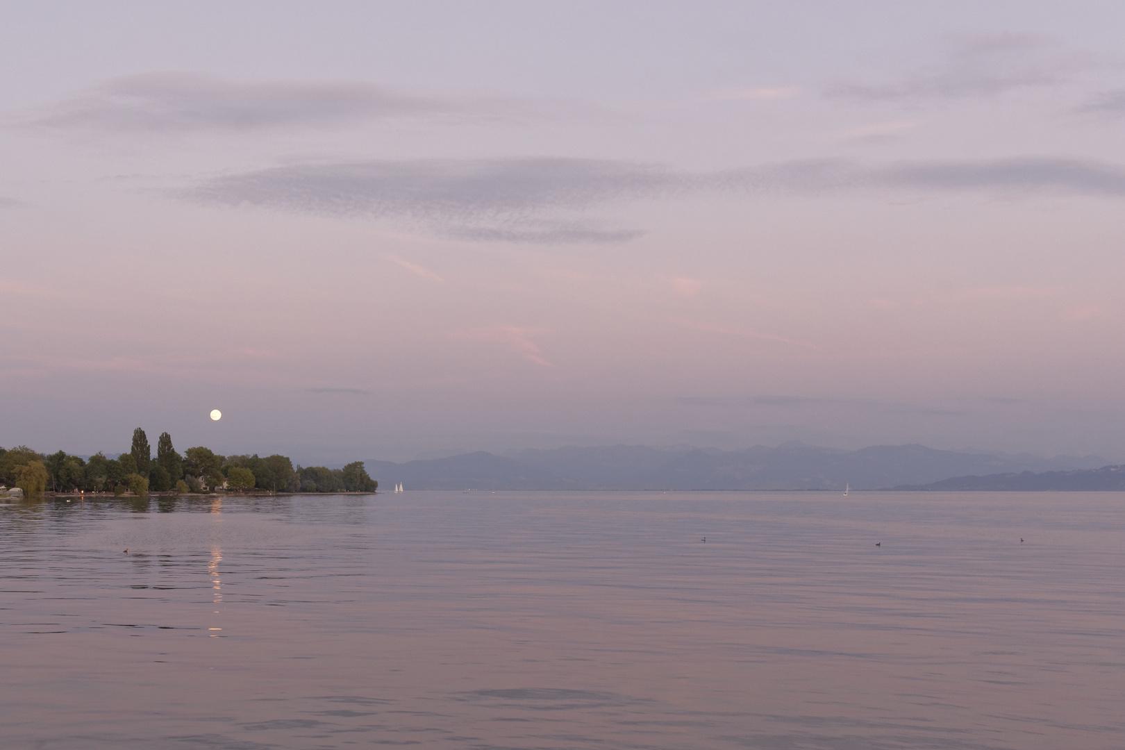 Ein Abend am Bodensee