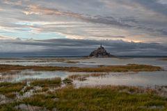 Ein Abend am Mont Saint Michel