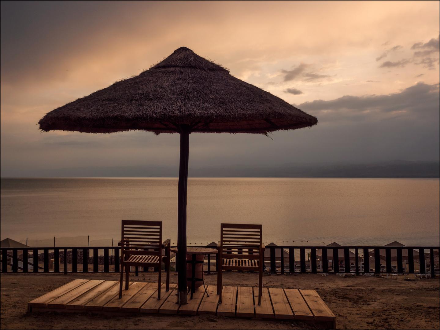 Ein Abend am Toten Meer