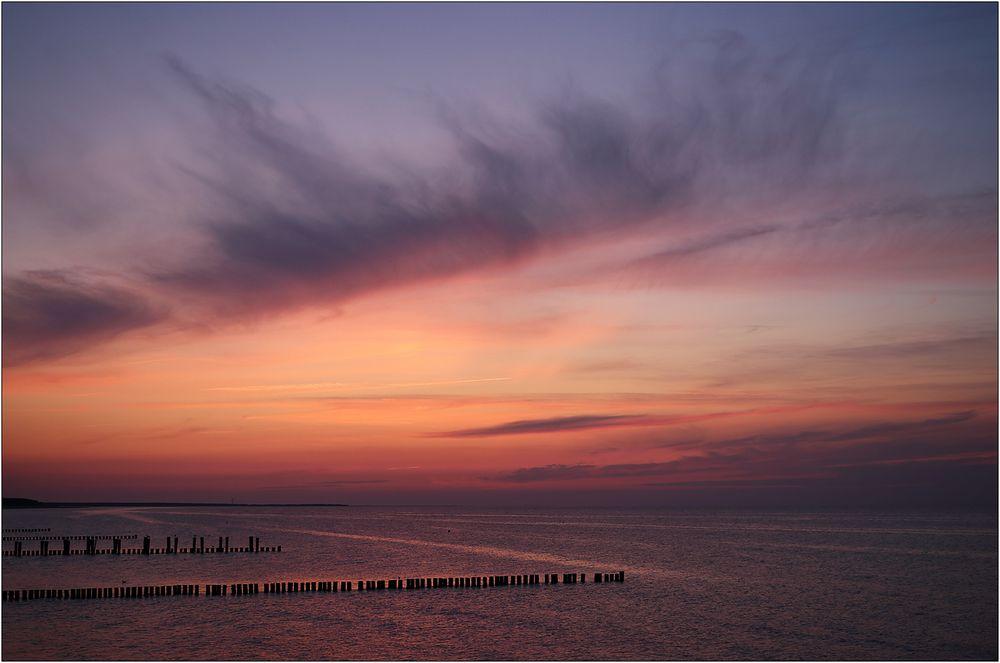 Ein Abend an der Ostsee...