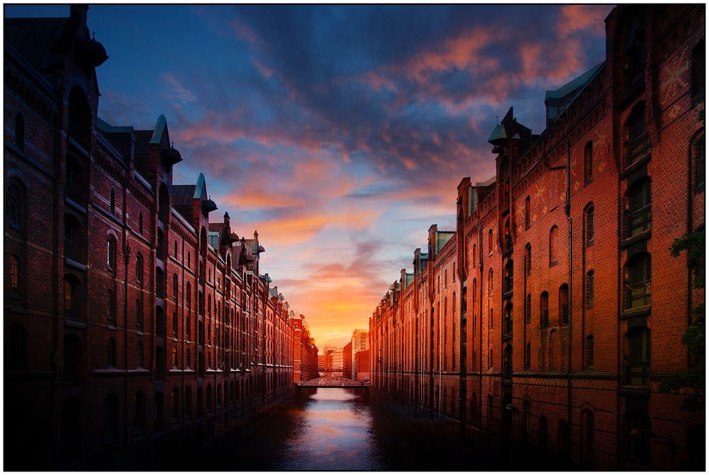 ein Abend in Hamburg