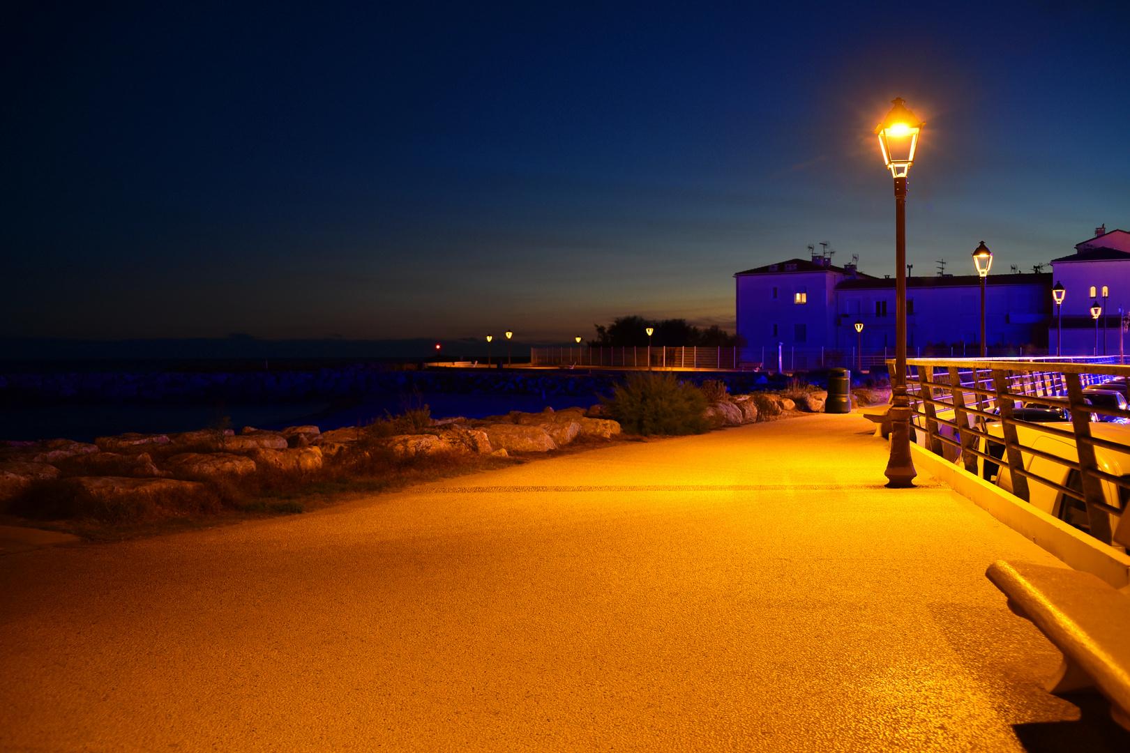 Ein Abend in Saintes-Maries-de-la-Mer