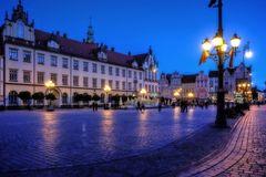 Ein Abend in Wroclaw (Breslau)