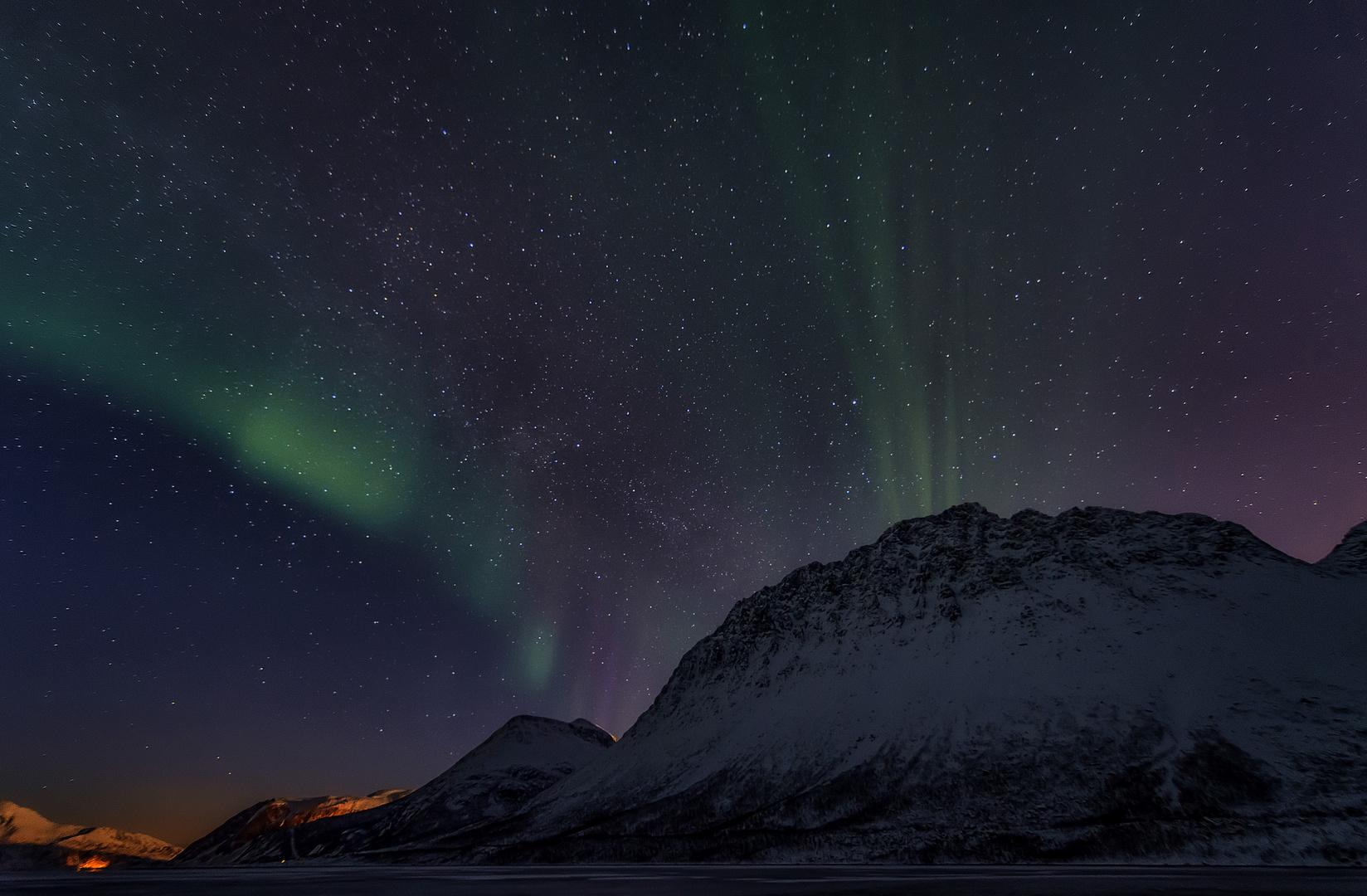 Ein Abend mit Nordlicht