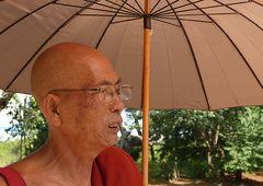 Ein älterer Mönch