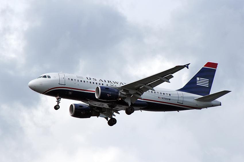 Ein Airbus A319-112 der US Airways