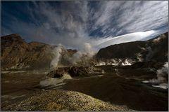 ein aktiver vulkan