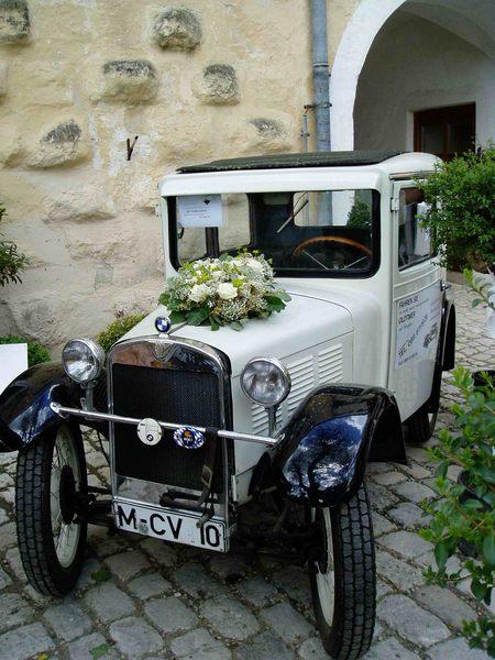 Ein alter BMW