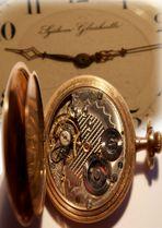 Ein altes Uhrwerk ( Thema: Industrie und Technik v. M.Schw. )