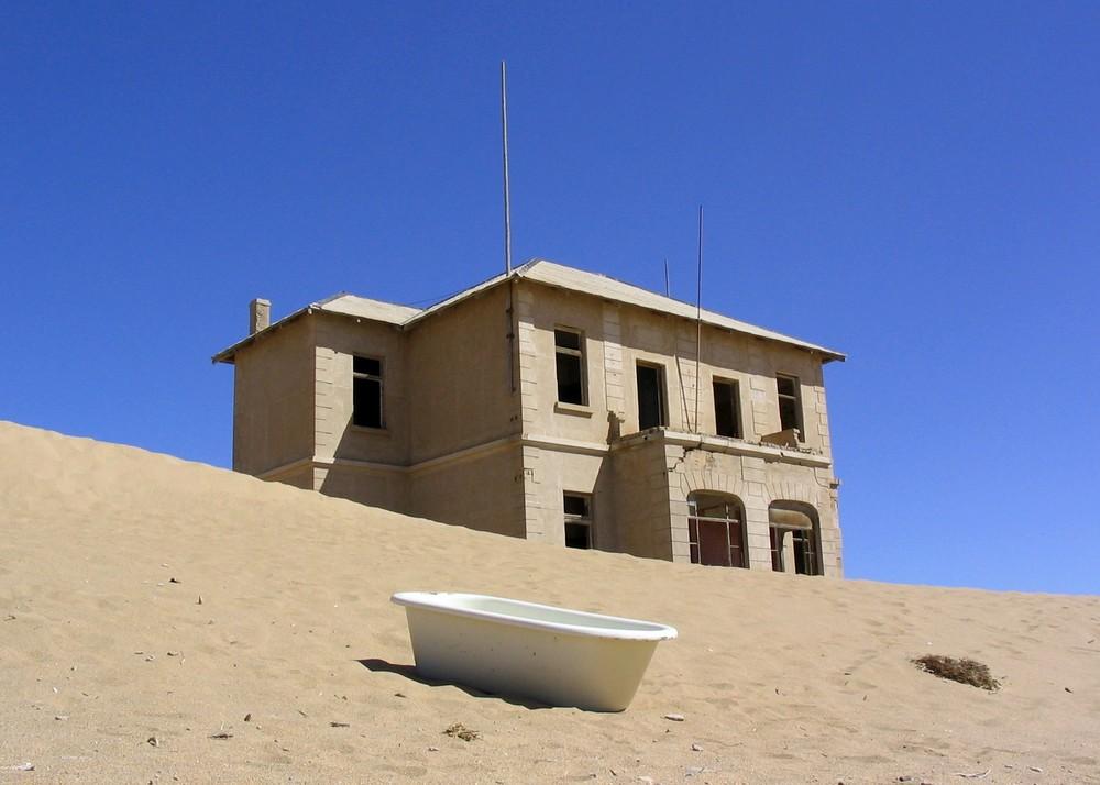 Ein Bad in der Wüste