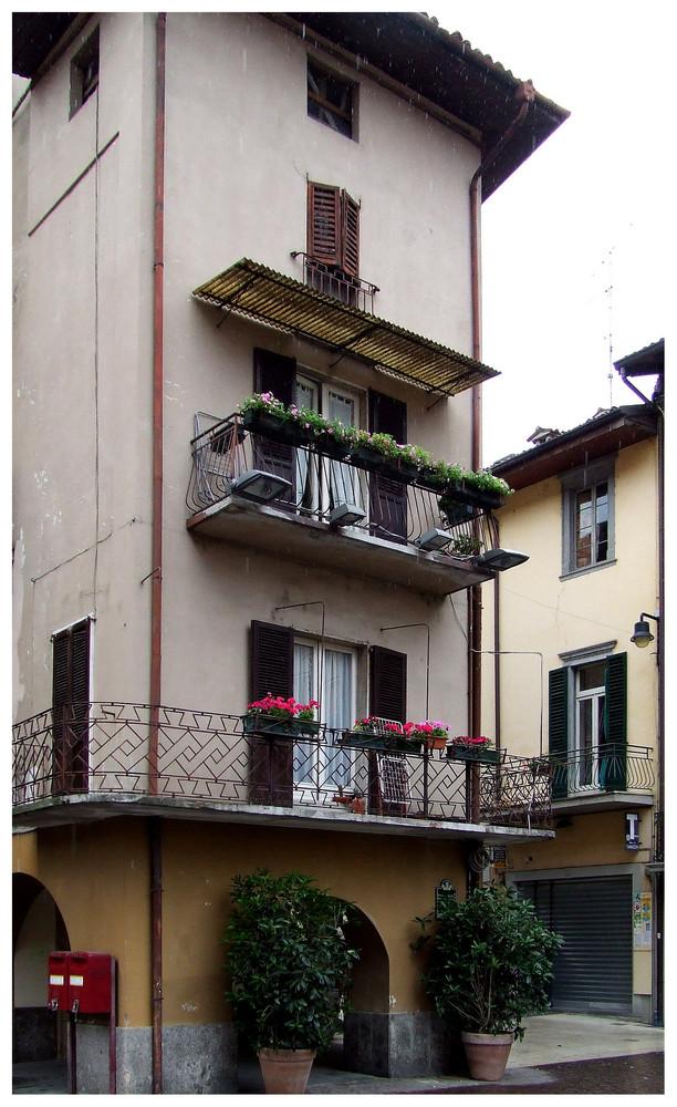 ein balkon