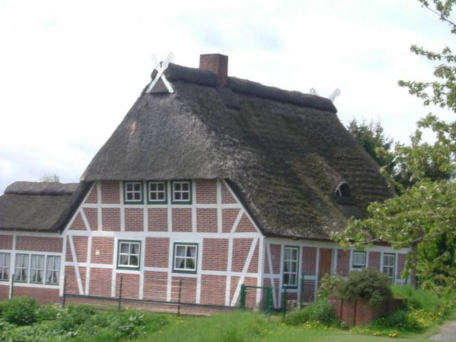 Ein Bauernhaus im Alten Land