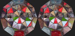 Ein begehbares Kaleidoskop ...