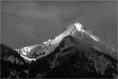 Ein Berg im Licht