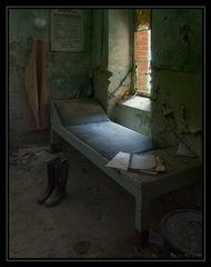 Ein Bett ist noch frei....