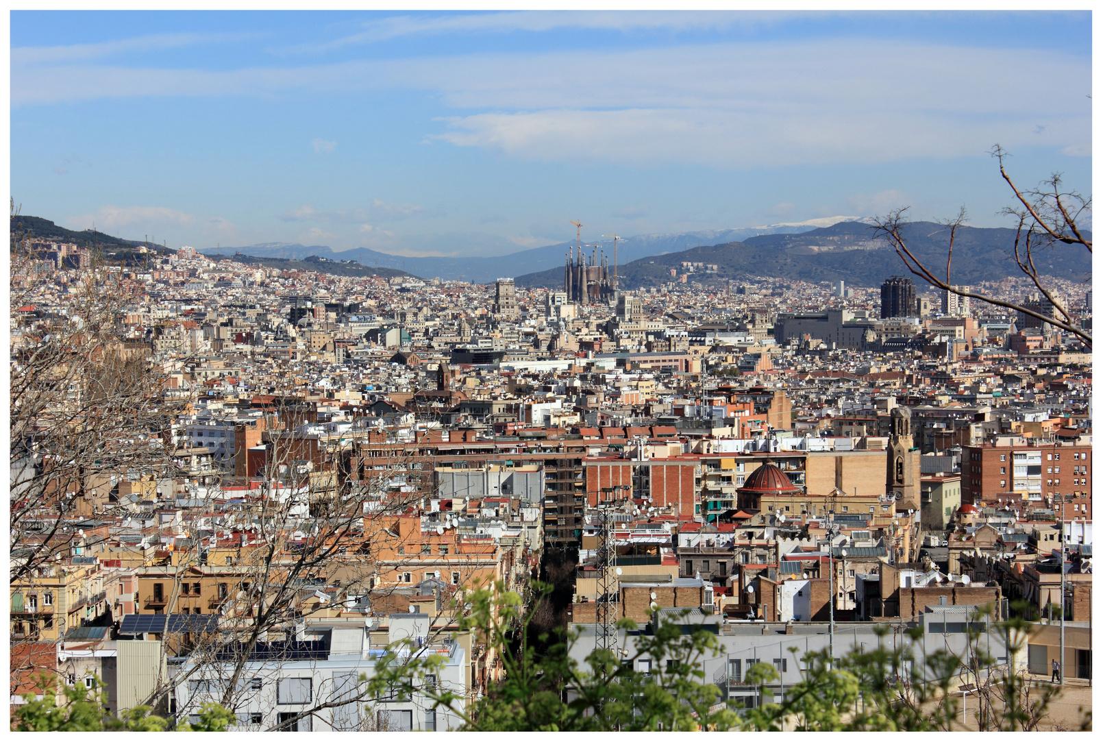 ein bisschen Barcelona...