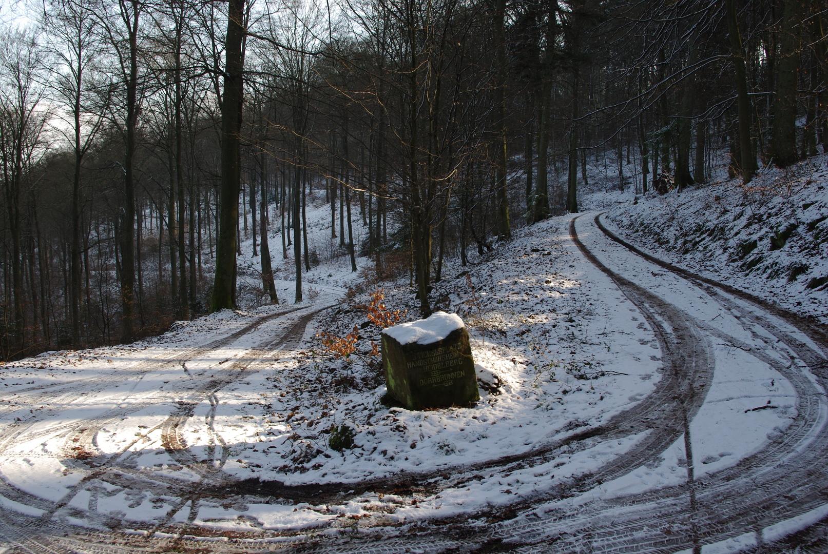 Ein bißchen Winter