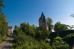 ein Blick auf Burg Hollenfels