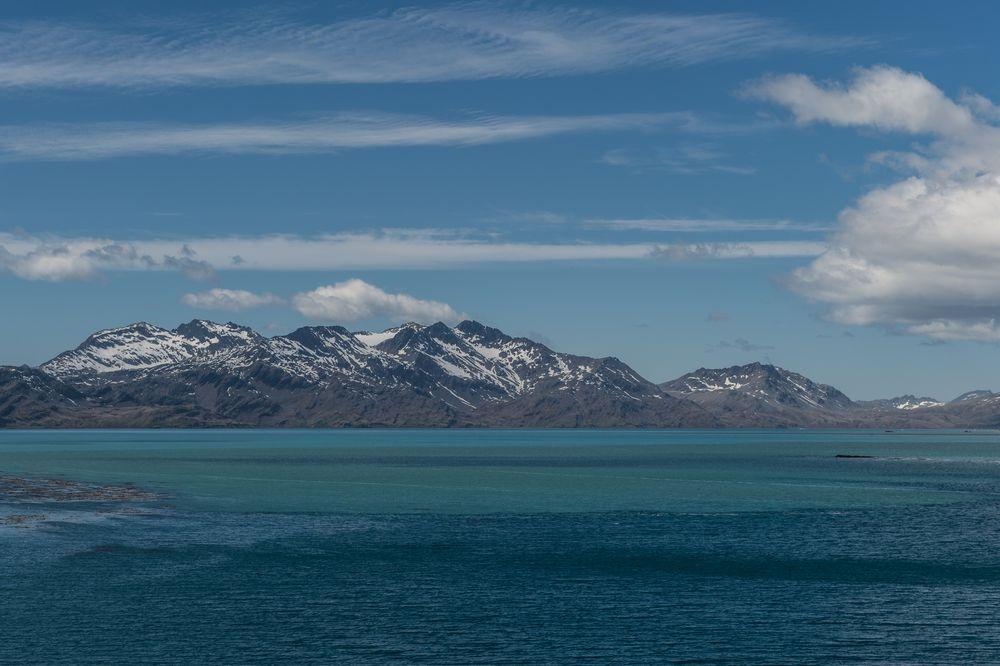 Ein Blick auf den Ozean.