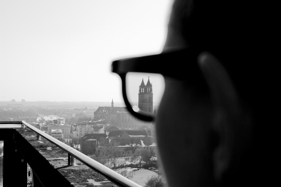 Ein Blick auf Magdeburg
