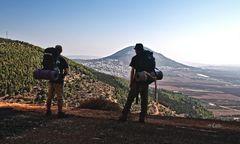 ein Blick auf Mt.Tabour