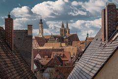 Ein Blick auf Rothenburg o.T.