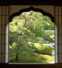 Ein Blick in einen der Subtempel des Daitoku-ji