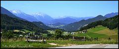 Ein Blick ins Berchtesgadener Land