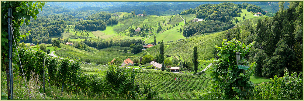 Ein Blick nach Slowenien.