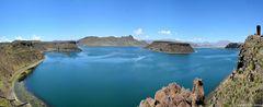 Ein Blick über der Umayo-See...