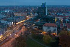 Ein Blick über die Stadt
