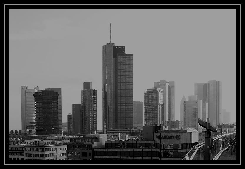 Ein Blick über Frankfurt... (reload)