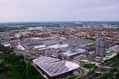 Ein Blick über Münchens Norden...