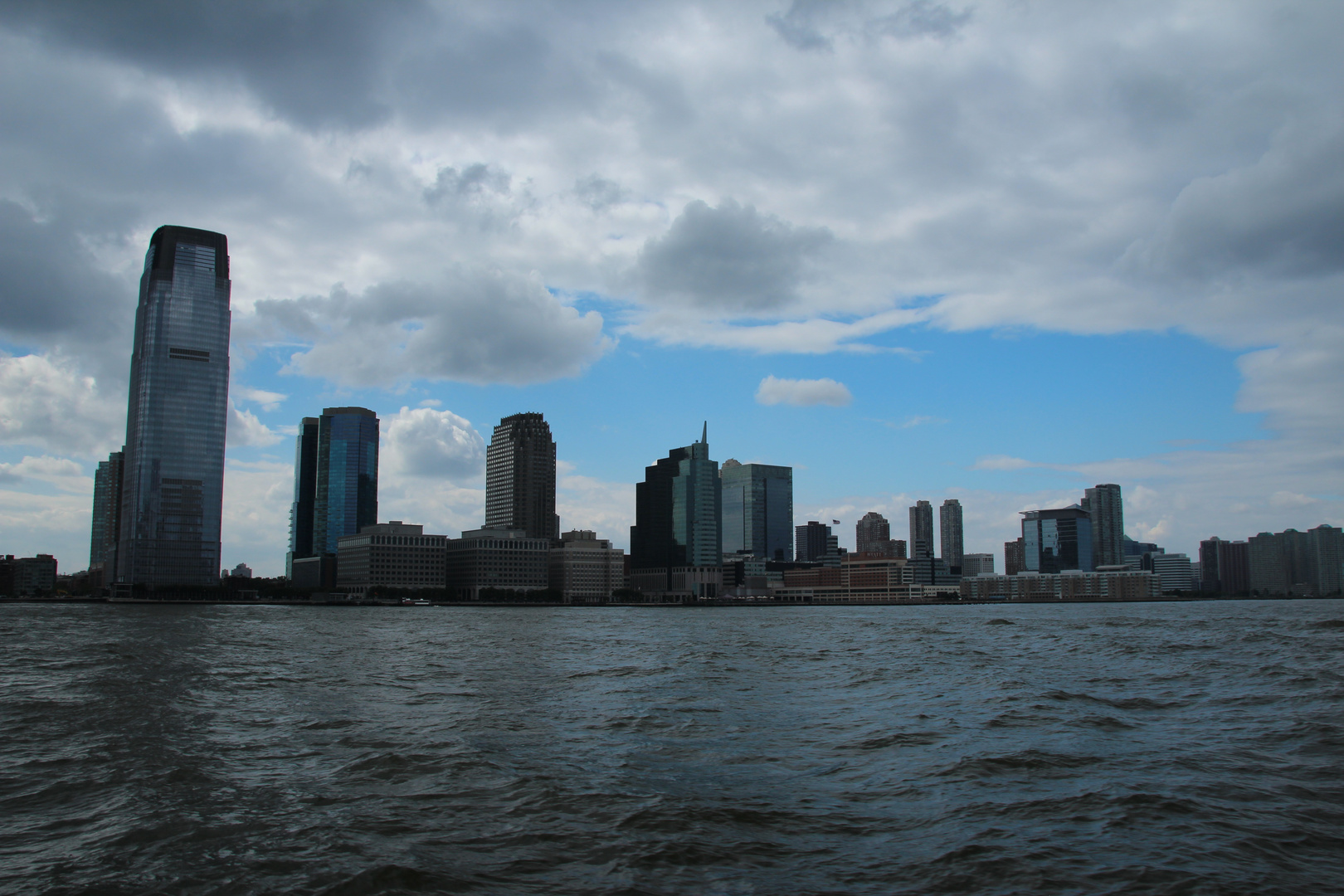 Ein Blick von Manhattan