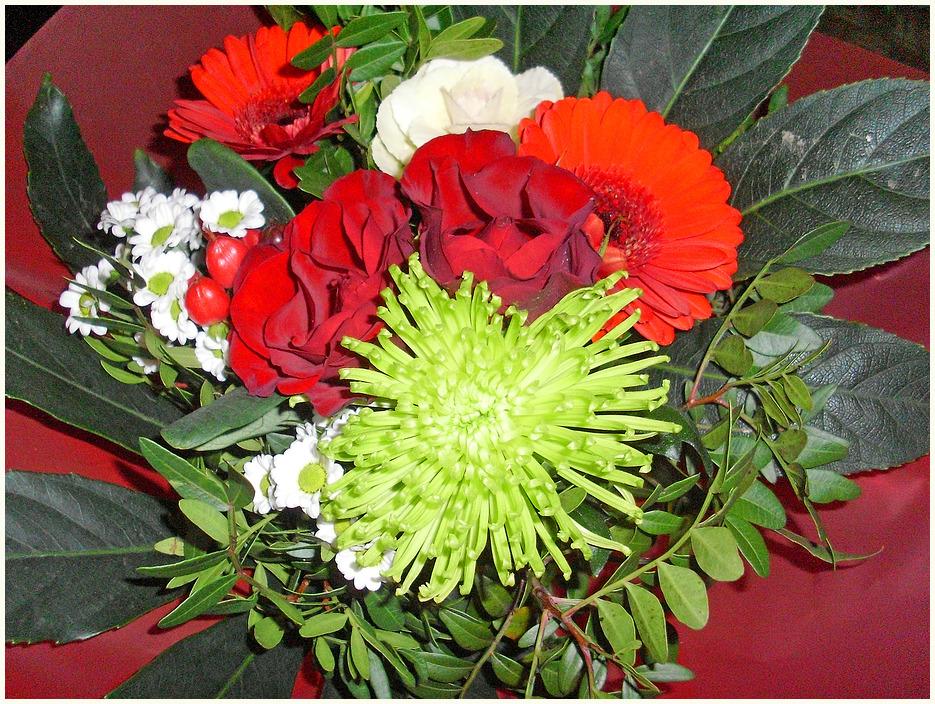 Ein Blumen Gruß