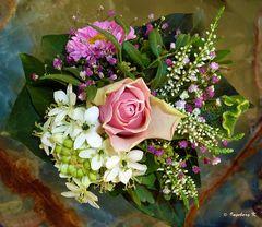 Ein Blumengruß zum Wochenende -
