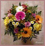 Ein Blumengruß zur Wochenmitte - soll alle FC-Freunde aufmuntern
