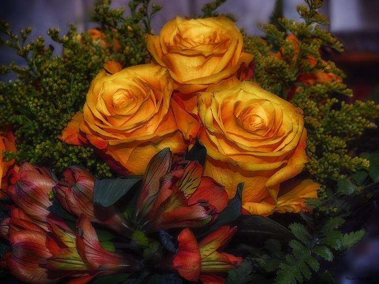 Ein Blumenstrauss zum Wochenbeginn