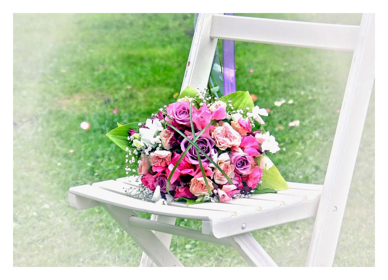 Ein Brautstrauß