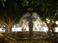 Ein Brunnen in Marsala.