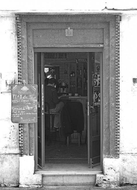 Ein Cafe im Marais