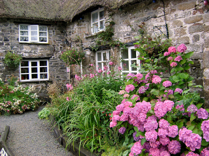 Ein Cottage In Cornwall Foto Bild Europe United Kingdom